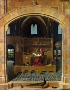 Antonello da Messina, San Girolamo nello studio, da qui